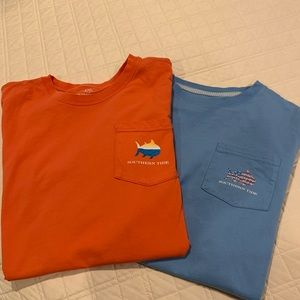 Southern tide ss tshirt youth xlg -2 of them